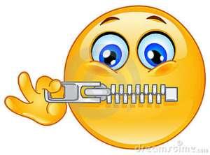 zipper-emoticon-18701658
